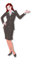 kommunikativ-freundlich-unaufgeregte Hostess