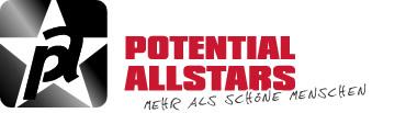 Potential Allstars Logo - gross