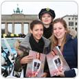 Fashion Week 2017 - Promoterinnen - Brandenburger Tor