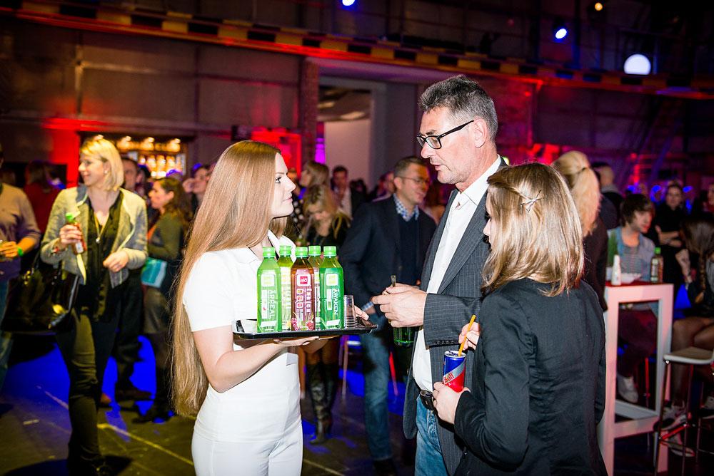 """Promotion und erste Beratung zum neuen Aloe Vera Getränk, Berlin, VIP-Viewing zum Finale der 3. Staffel """"The Voice of Germany"""""""